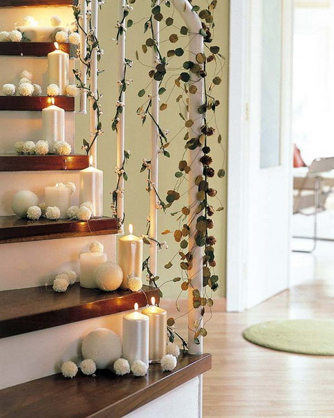 Christmas Staircase Decorations14