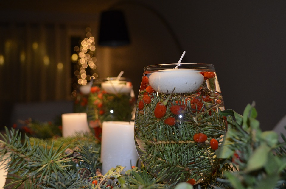 Christmas Table Decorating10