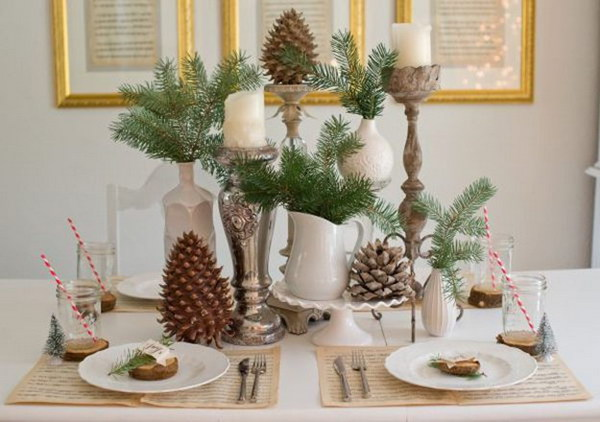 Christmas Table Decorating19