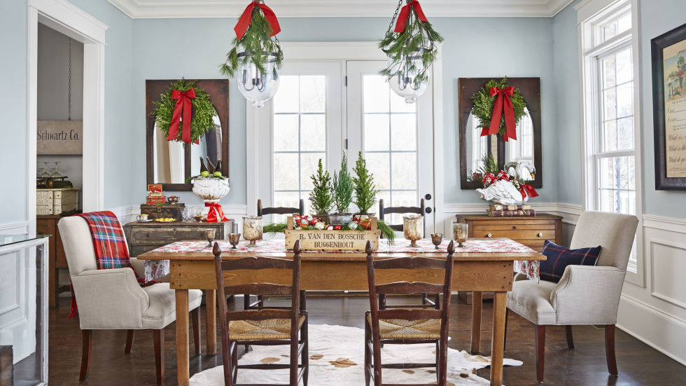 Christmas Table Decorating24