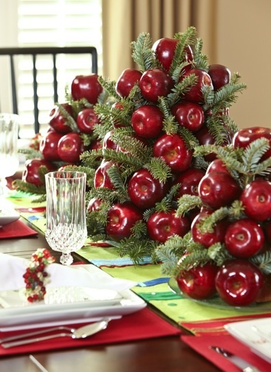 Christmas Table Decorating34