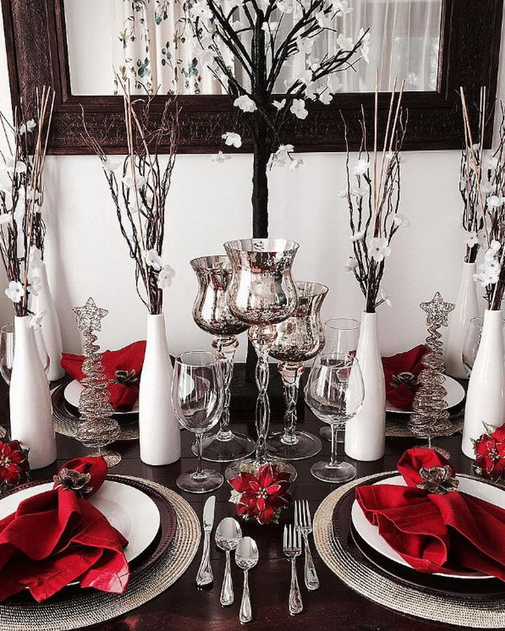 Christmas Table Decorating35