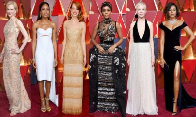 21 Best Dressed Celebrities at the Oscars 2018