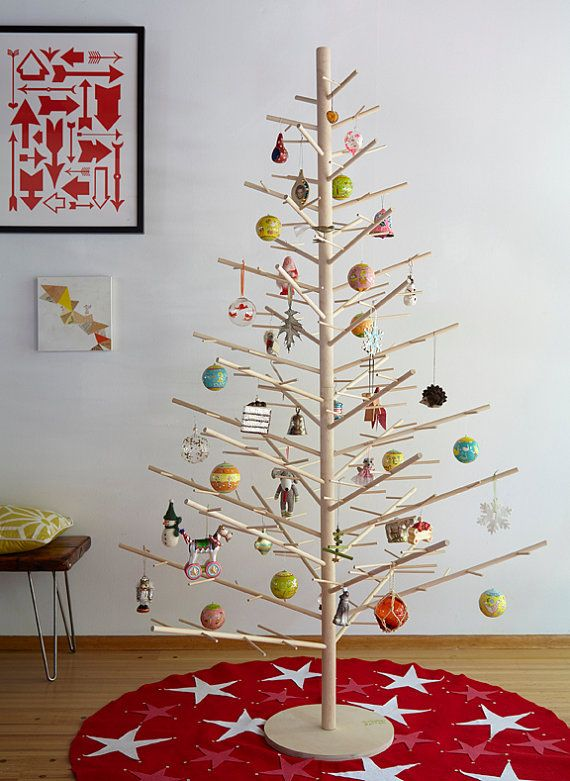 Modern Wooden Christmas Trees30