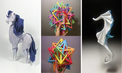 43 Amazing Examples of origami paper art