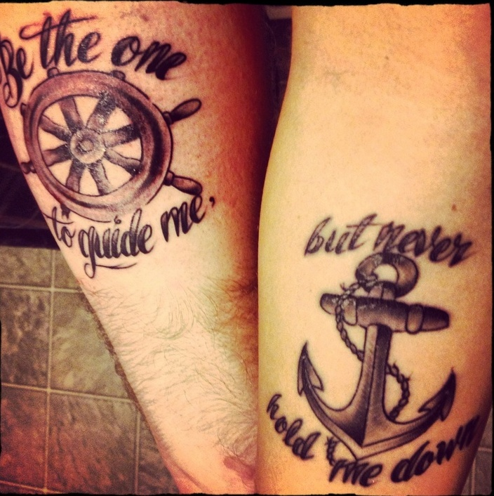 Awesome couple tattoos inspiration 1