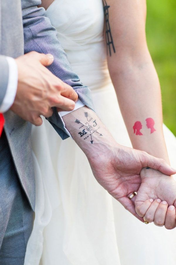 Awesome couple tattoos inspiration 15