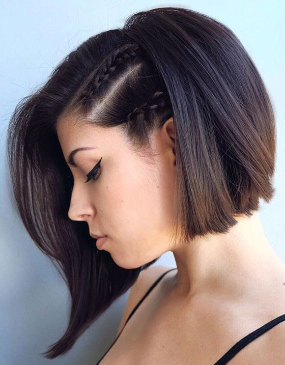 Gorgeous hairstyles for short hair 48