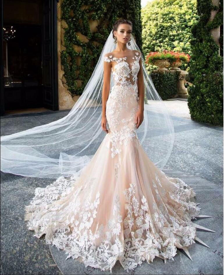 34 gorgeous lace wedding dresses gorgeous lace wedding dresses 13 junglespirit Choice Image