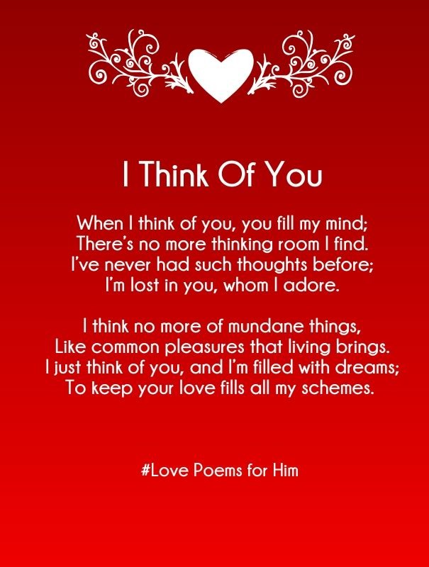 Romantic cute love poems collection 3