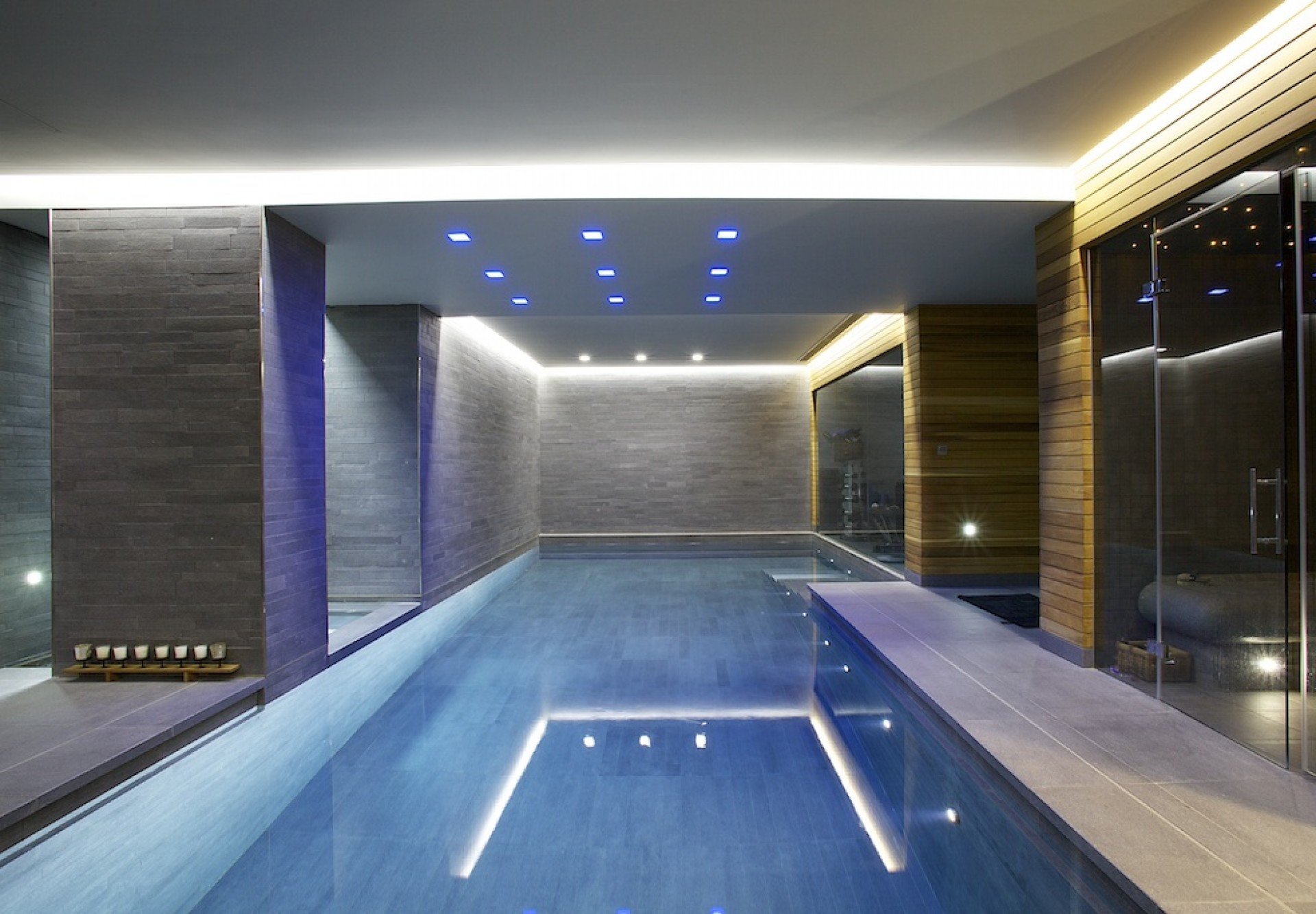 Awesome Indoor Swimming Pool Ideas 34