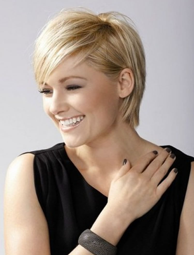 Beautiful Blonde Hair Color Pixie Haircuts for Spring Summer 14 ...