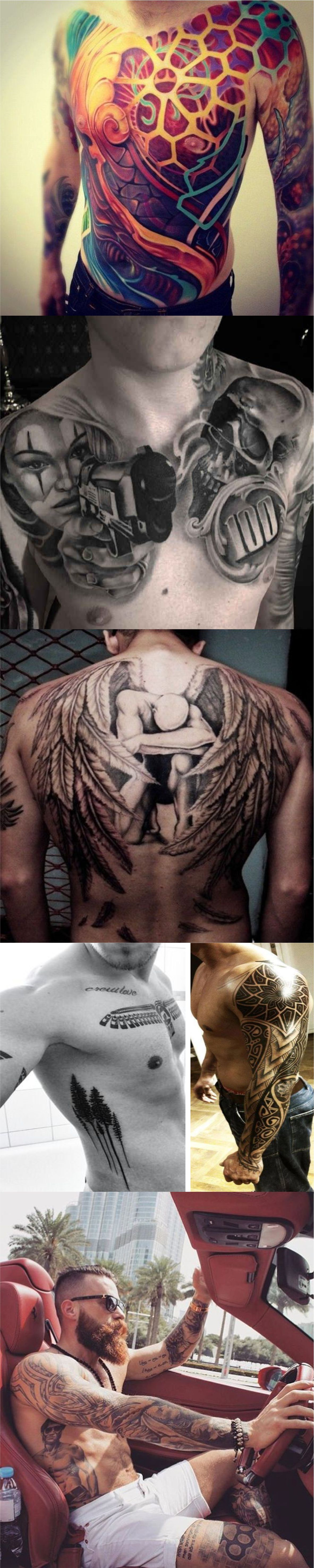 Best tattoos for men to try now 2018
