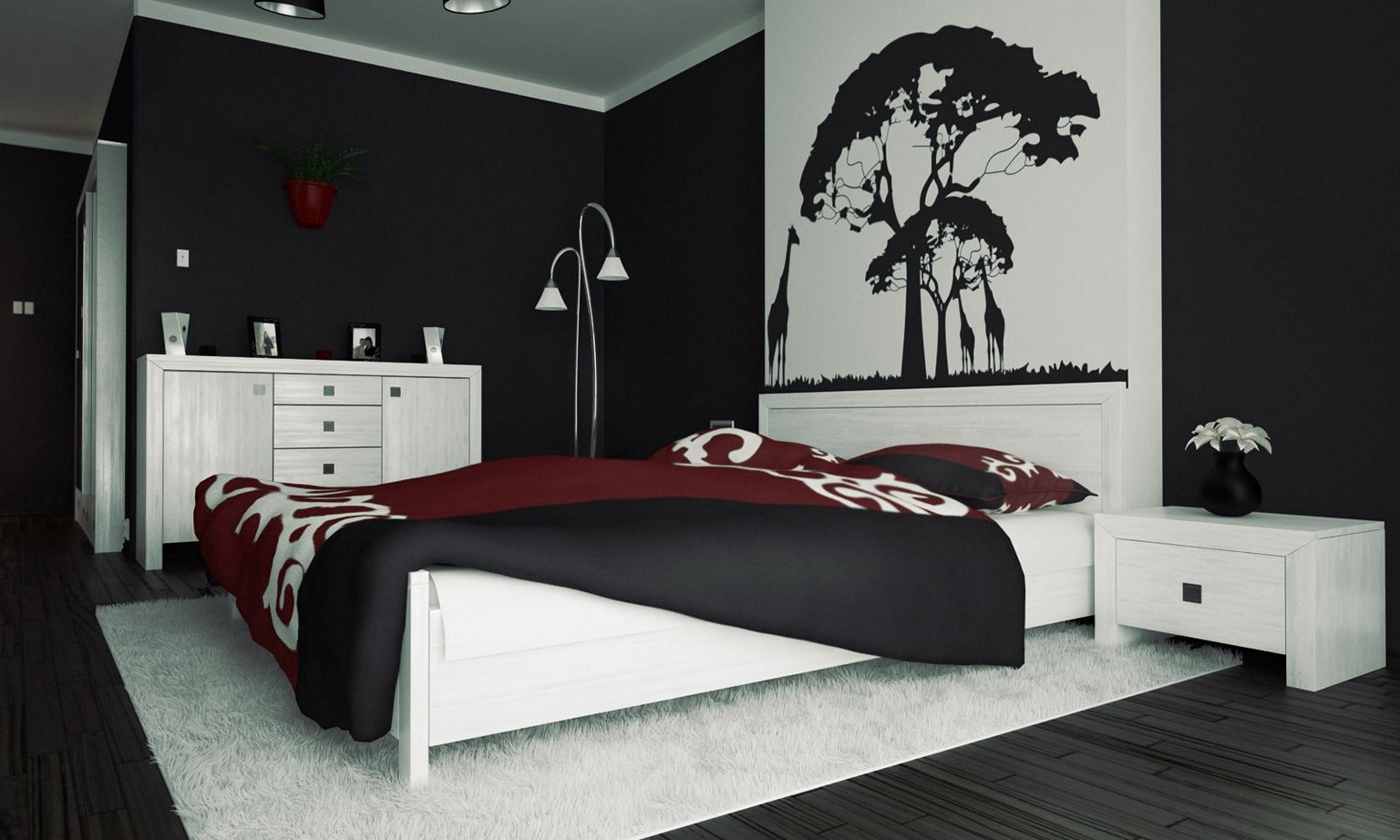 Beau Black And White Bedroom Ideas 19