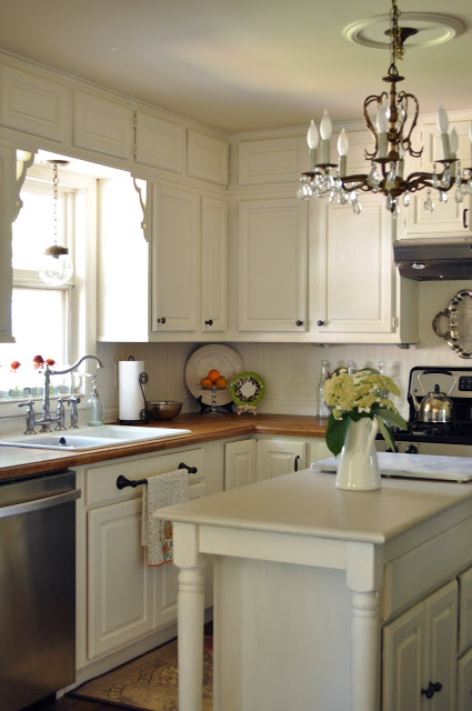 Benjamin Moore Linen White Kitchen Cabinets