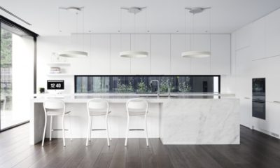 Best Contemporary white kitchen