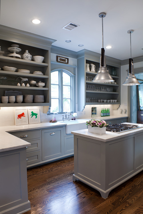 Fieldstone Gray Kitchen Cabinets