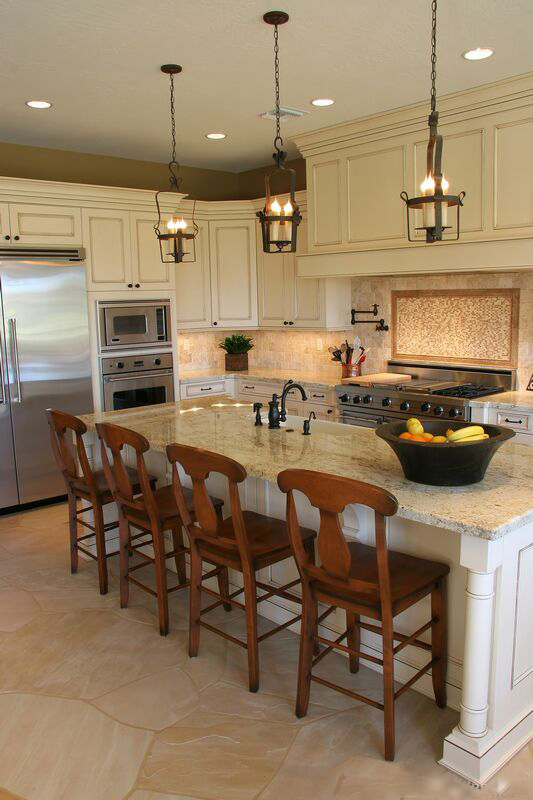 Kitchens with Antique White Cabinets
