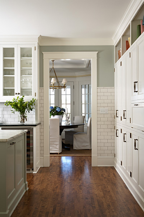 Kitchens with Sage Green Walls