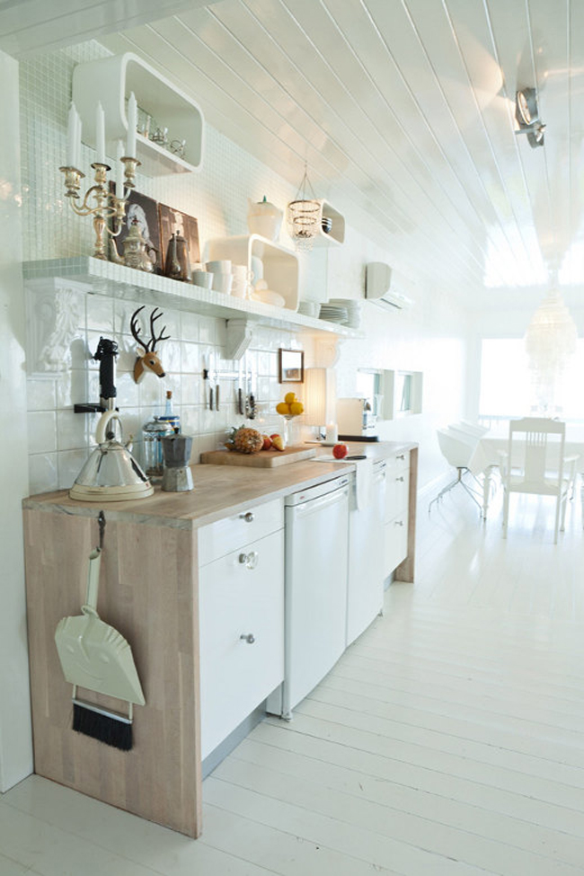 Norwegian White Kitchen