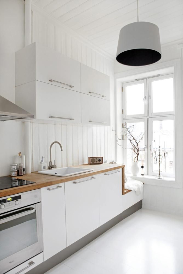Scandinavian White Kitchen