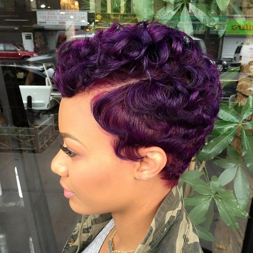Short hairstyles for black women 6 · Pretty Inspiration
