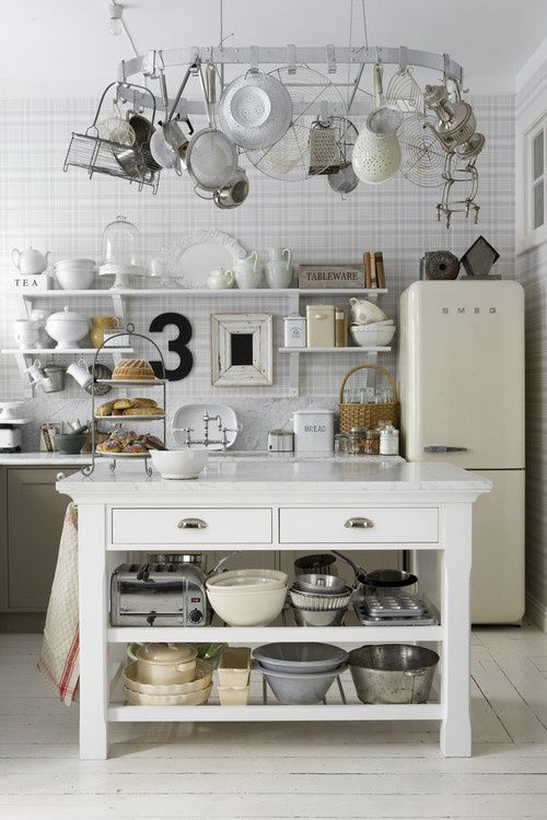 Vintage Scandinavian Kitchen