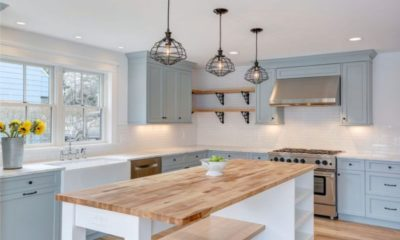 White Kitchen Farmhouse Feture