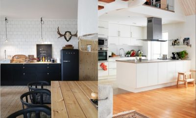 32 White Kitchen With Scandinavian
