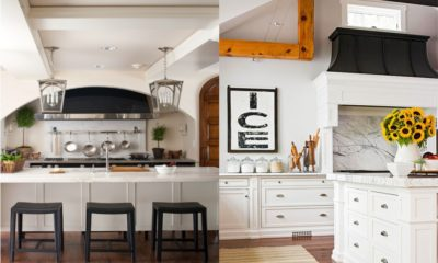 Beautiful Hood in White Kitchen