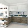 Best White kitchen wooden Feture