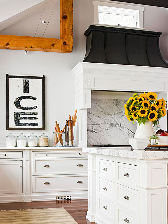 Black and White Kitchen Signs