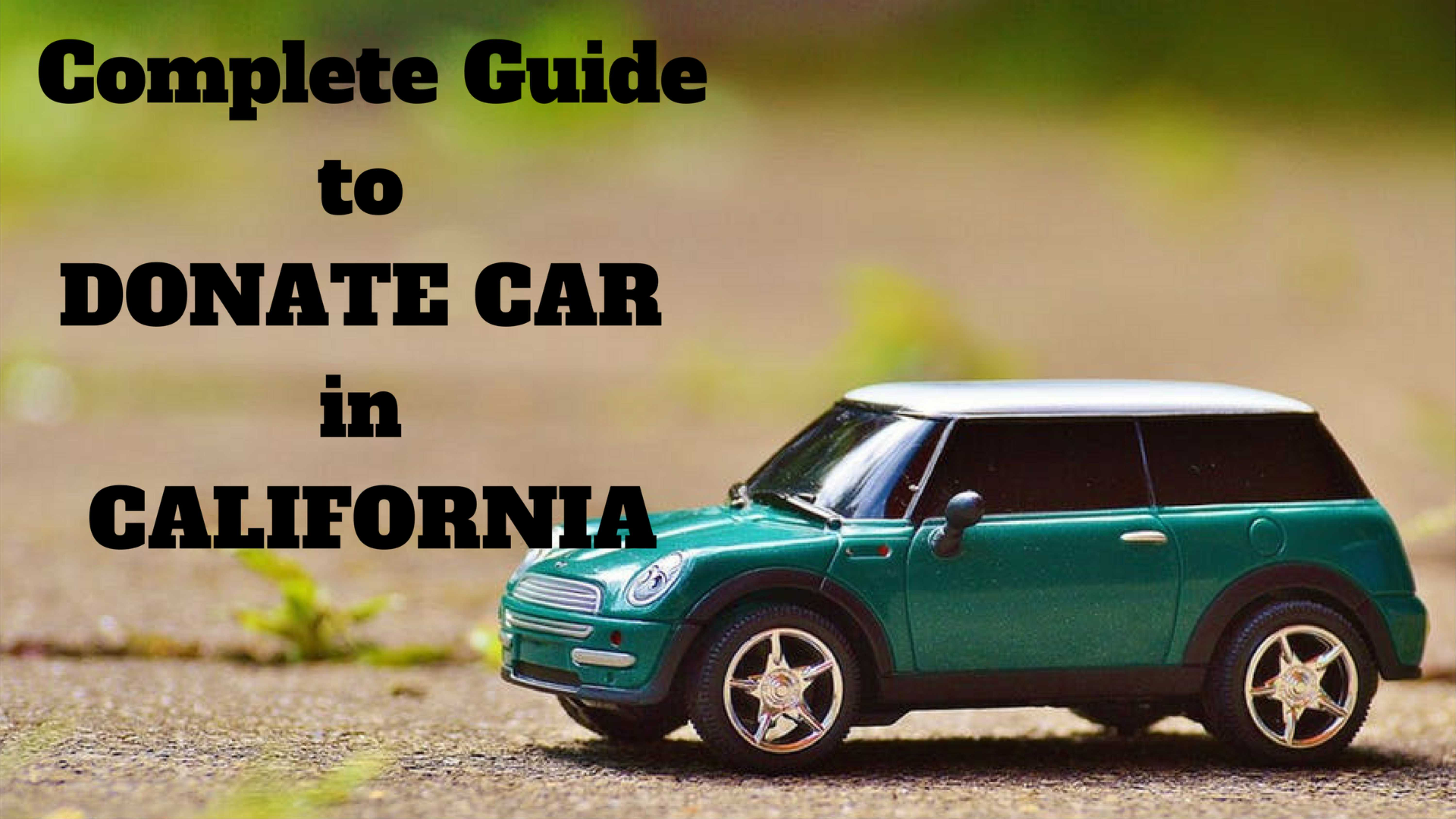 Donate to Car in California 15