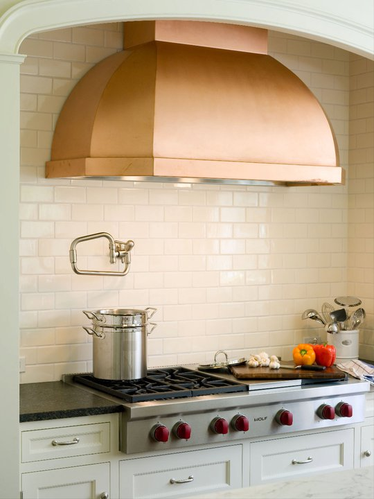Kitchens with Copper Range Hoods