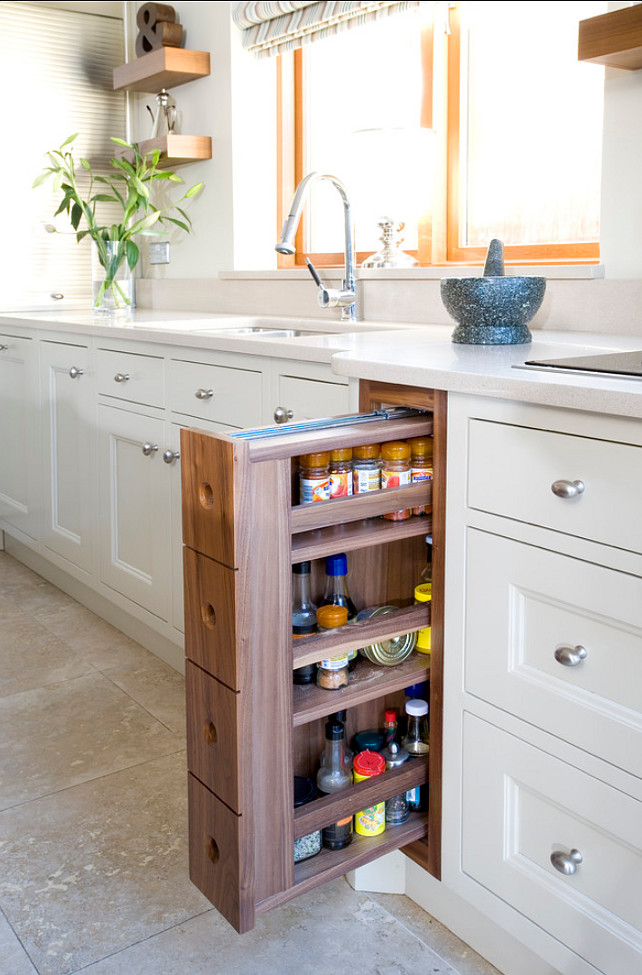 Pull Out Spice Cabinet