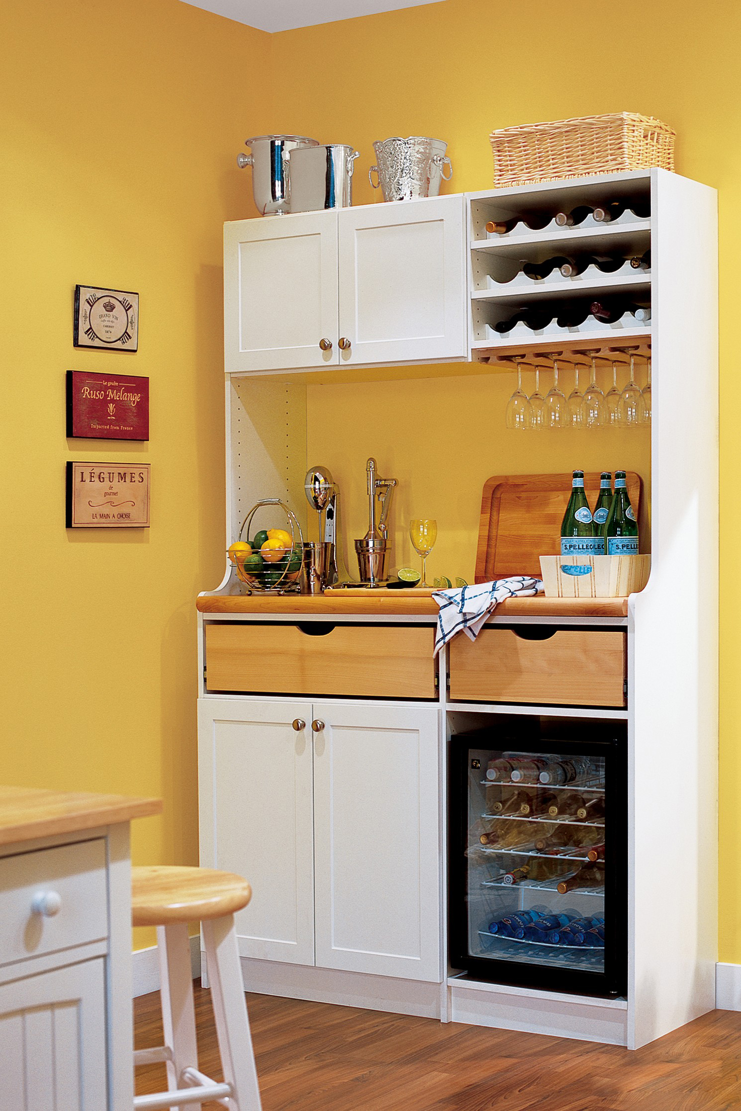 Small Kitchen Pantry Storage Cabinet