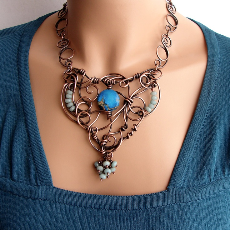 Awesome tangled jewellery designs for women 1