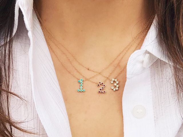 Awesome tangled jewellery designs for women 12
