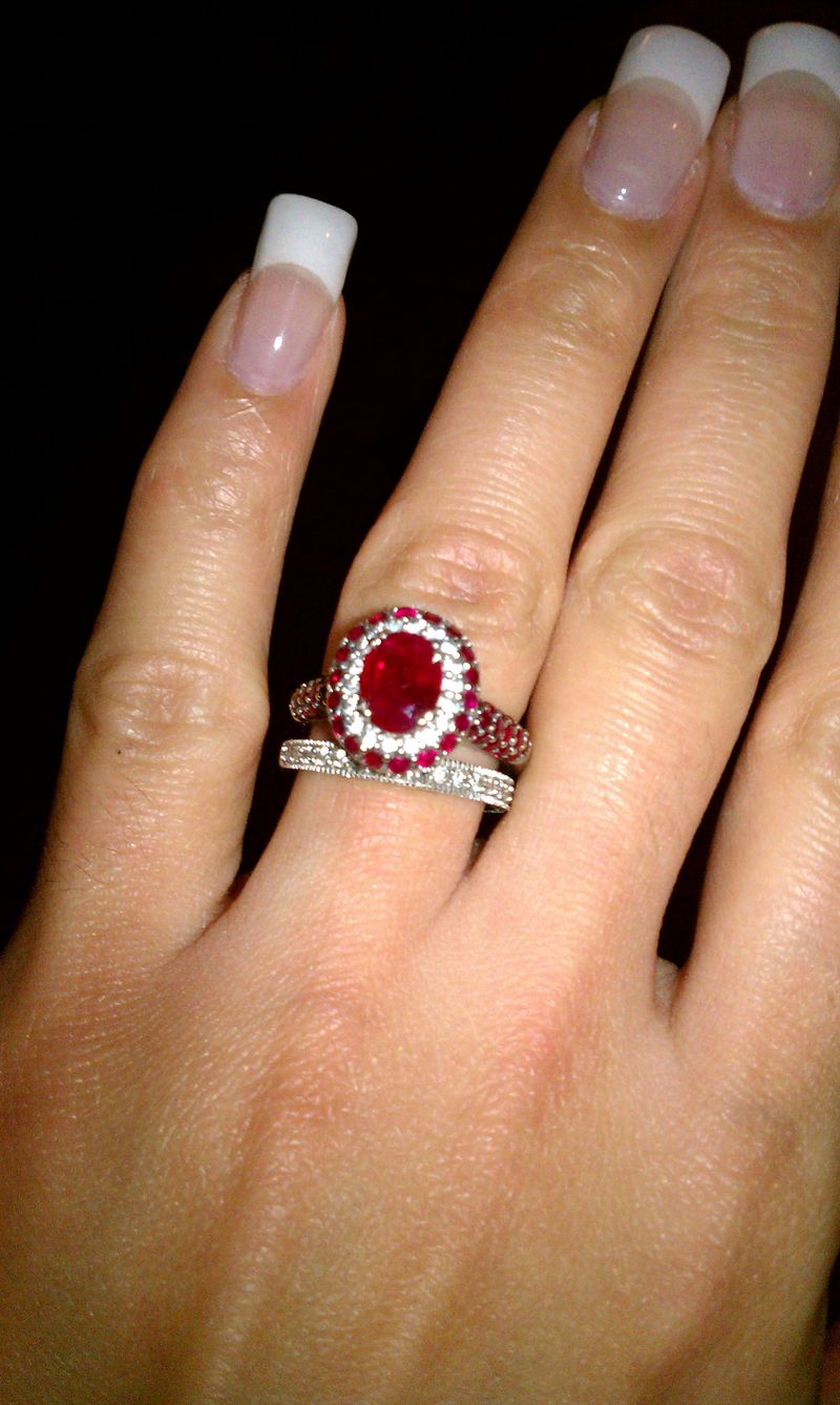 Beautiful Ruby Rings For The Ring Ceremony 14