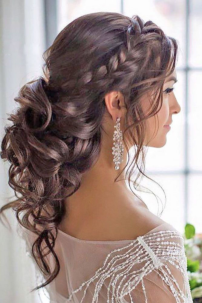 Beautiful Wedding updos for 2018 1