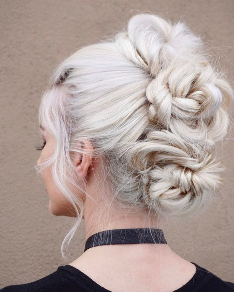 Beautiful Wedding updos for 2018 24
