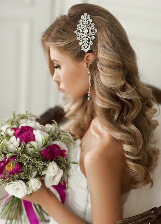 Beautiful Wedding updos for 2018 28