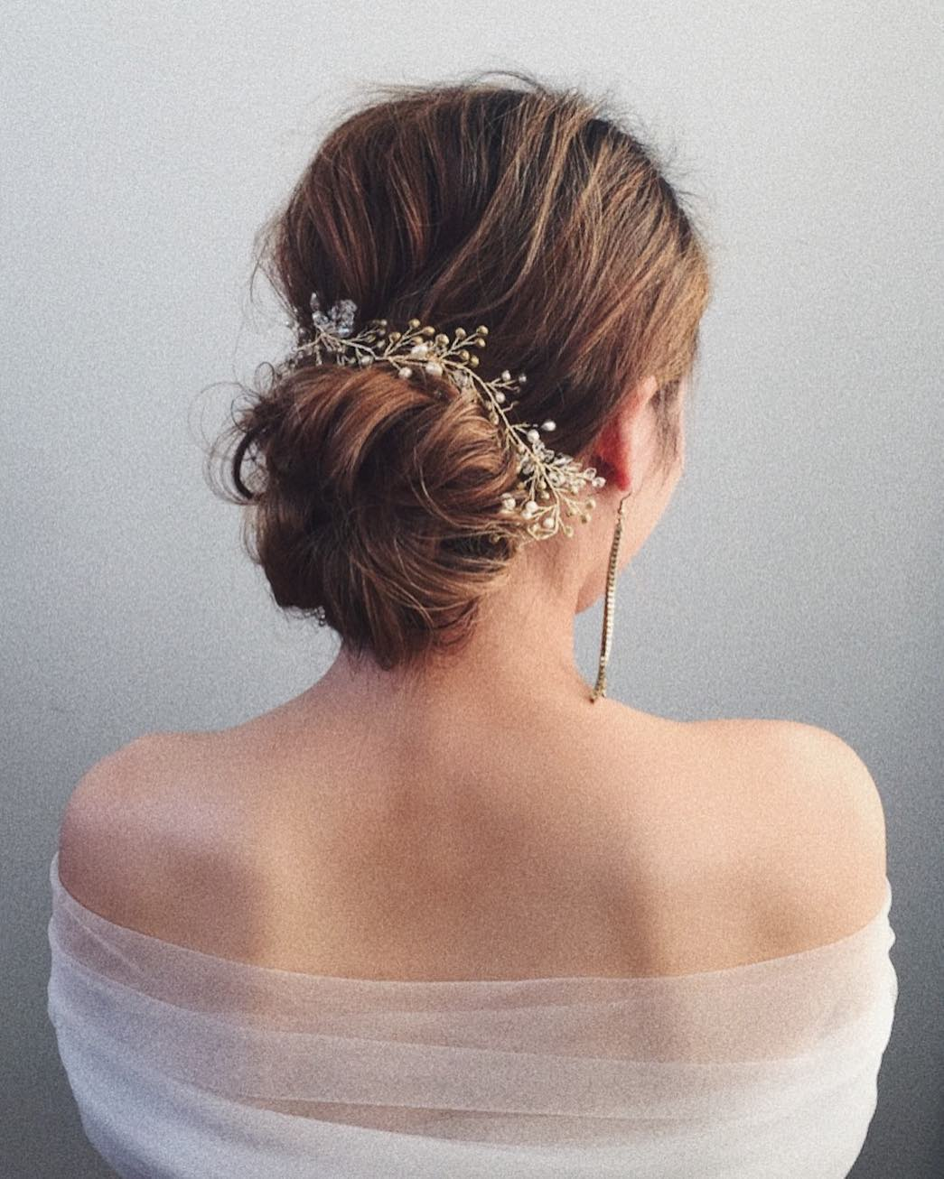 Beautiful Wedding updos for 2018 5