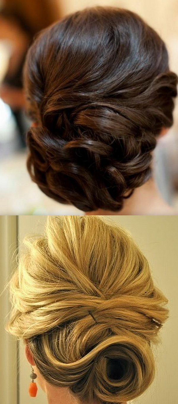 Beautiful Wedding updos for 2018 6