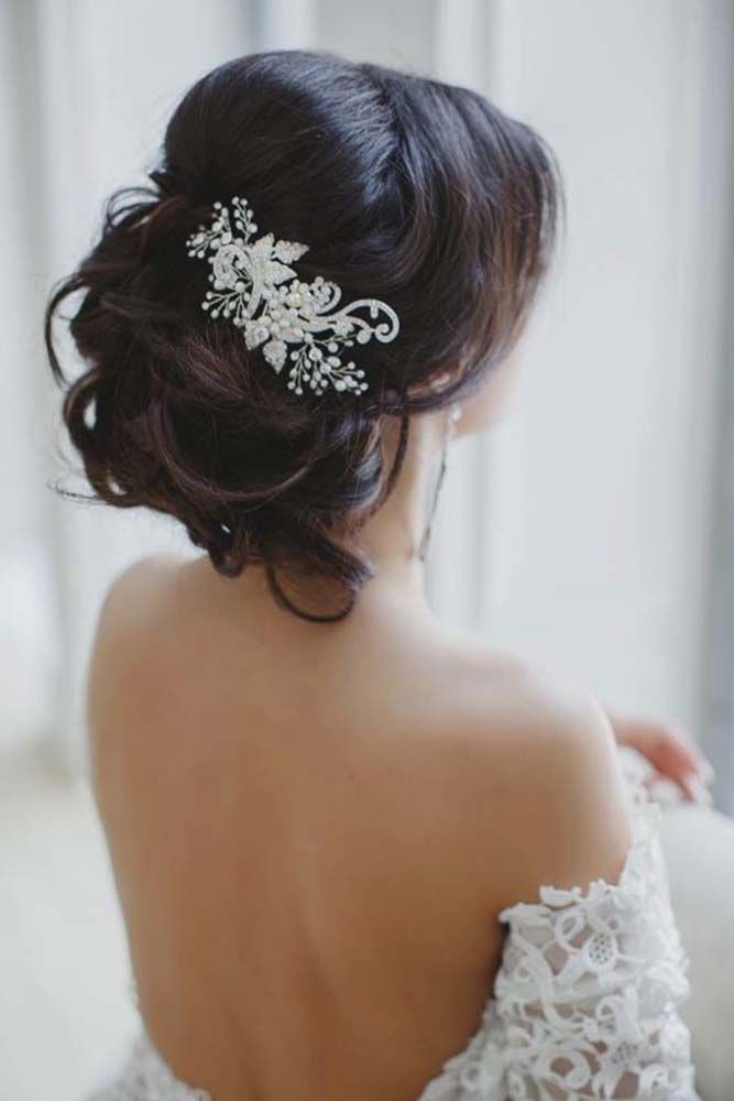 Beautiful Wedding updos for 2018